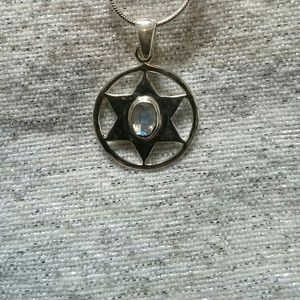 Jewelry - Sale🌙Moonstone Starburst Pendant